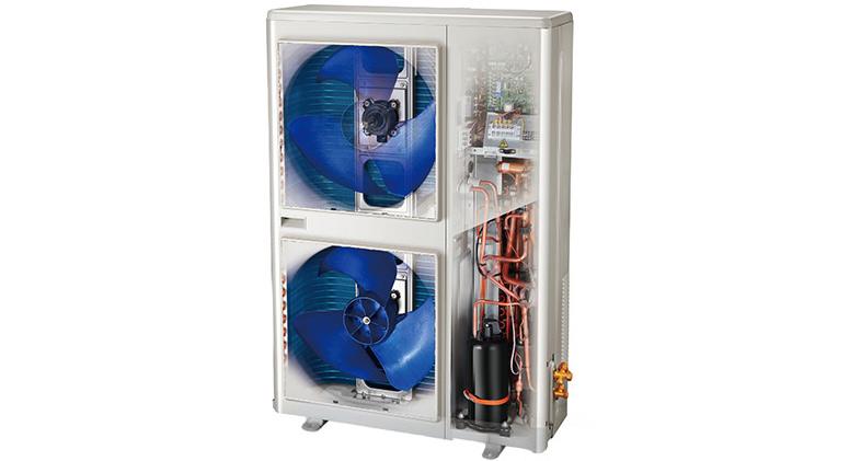 空调采用先进的一拖多智能控制技术,从而实现各室内机模块的智能化