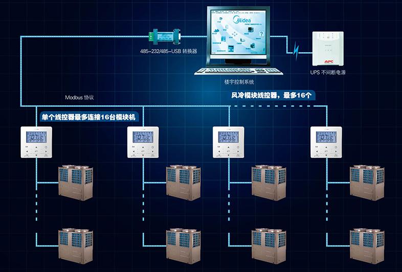 热泵控制系统电路图